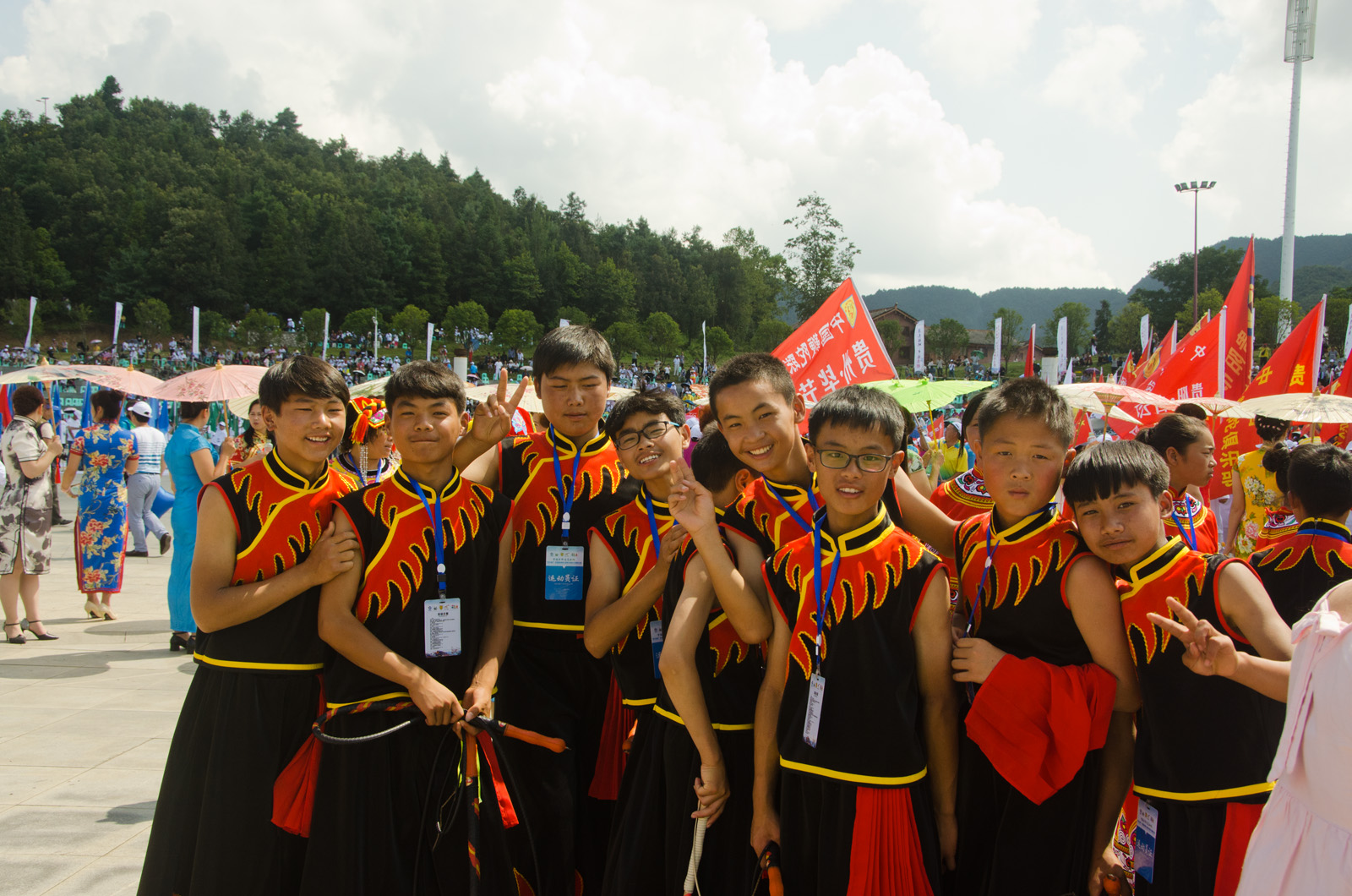 Shuicheng-Liupanshui International Whip an chinese spinning top Competition – July 2017